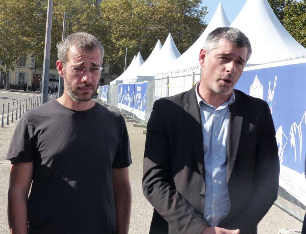Lionel Perrin et Guillaume Gontard © Florent Mathieu - Place Gre'net