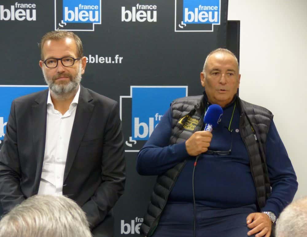Jean-Lou Philippe aux côtés de Guy Chanal © Florent Mathieu - Place Gre'net