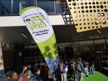 Lancement national des lundis verts dans les restaurants universitaires, vendredi 11 octobre 2019 © Séverine Cattiaux - Place Gre'net