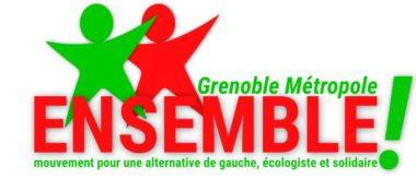 Le logo de Ensemble! Grenoble Métropole. © EGM