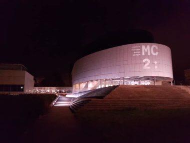 MC2 Grenoble la nuit © Séverine Cattiaux - placegrenet.fr