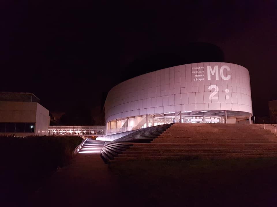 La MC2 sera fermée de nuit le temps du confinement mais continue à assurer sa programmation face au couvre feu © Séverine Cattiaux - Place Gre'net
