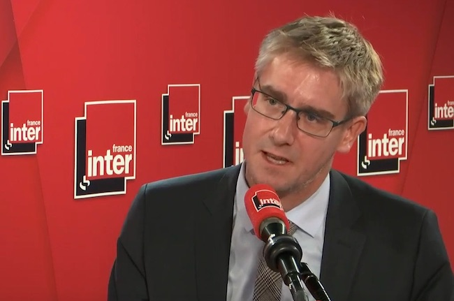 Olivier Noblecourt, un candidat... pas encore déclaré © France Inter
