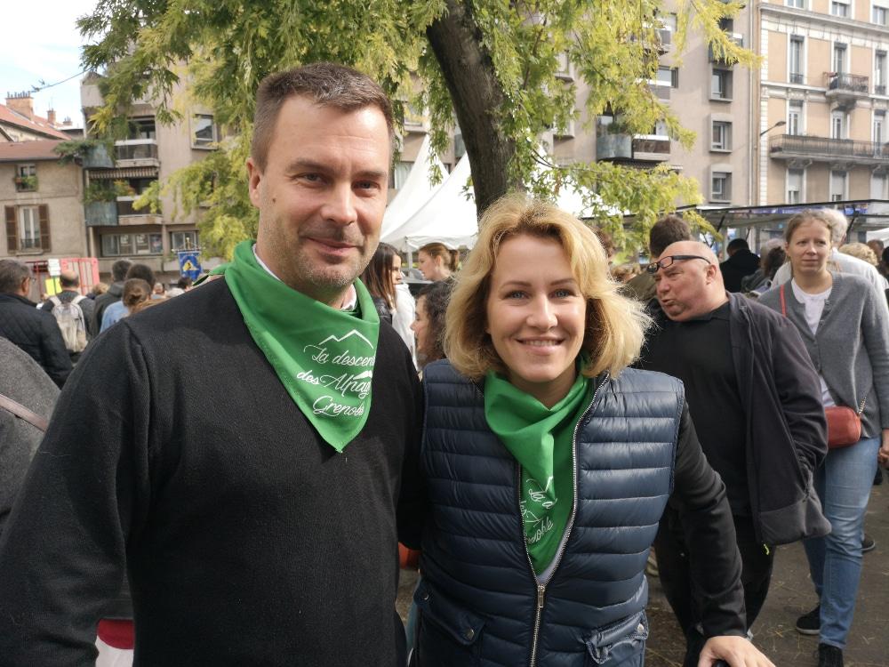 Olivier Six et Émilie Chalas. © Joël Kermabon - Place Gre'net