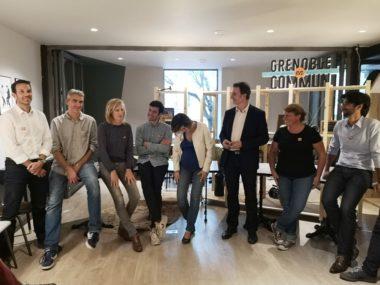 Premiers signataires de l'appel citoyen pour Grenoble en commun