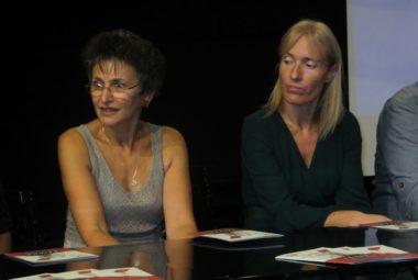 Élizabeth Papazian (à gauche) aux côtés de Hélène Vincent © Florent Mathieu - Place Gre'net