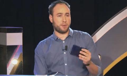 """UNE Lucas Duchaine, fondateur de Sylha, à l'émission """"le tête à tête décideurs"""" sur BFM Business DR"""