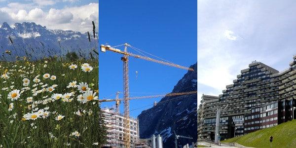 La FNE dénonce les « méga projets » en montagne. © France nature environnement Aura