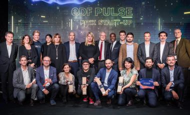 Lauréats 2019 du concours national de start-up EDF Pulse. © EDF Pulse