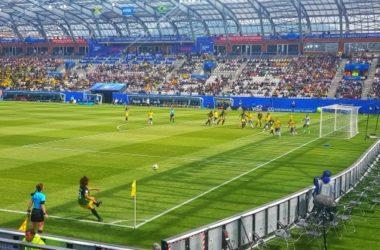 Le Stade des Alpes, théâtre de la Coupe du Monde féminine de football en juin 2019. © Sébastien Riglet - placegrenet.fr