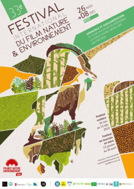 Affiche du Festival du Film Nature & Environnement. ©Grenoble.fr