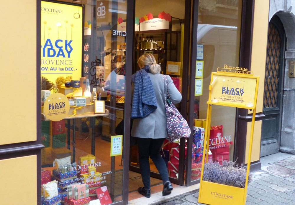 L'Occitane se met au Black Friday © Florent Mathieu - Place Gre'net
