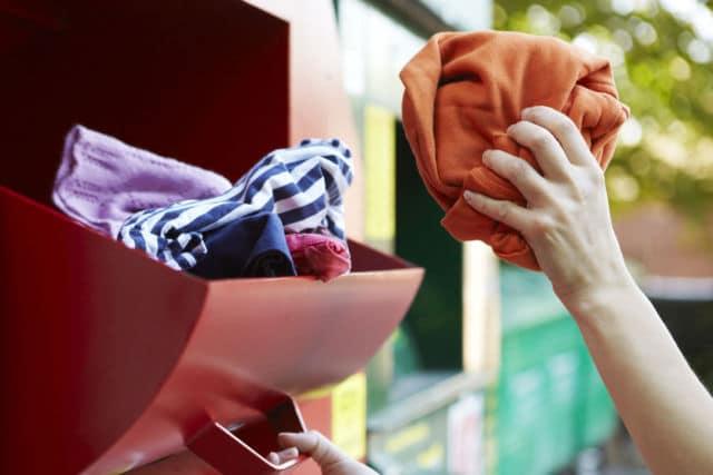 Près de 60 % des textiles collectés sont donnés ou revendus à bas prix © Métropole de Grenoble