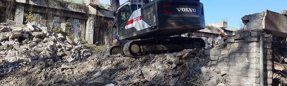 Démolition des barres du Drac sur le quartier Mistral, quartier Mistral, 13 novembre 2019 @ Séverine Cattiaux - Placegrenet.fr