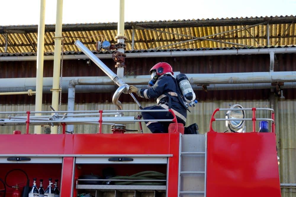 Les bailleurs sociaux de l'Isère signent une convention avec le Sdis pour une prise en compte des pompiers volontaires dans les demandes de logement social. © Raphaëlle Denis - Place Gre'net