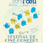 Le festival de ciné-concerts Le Tympan dans l'Œil revient pour une 10e édition dans l'agglomération grenobloise.