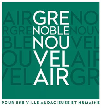 Le logo du collectif Grenoble nouvel air. © GNA