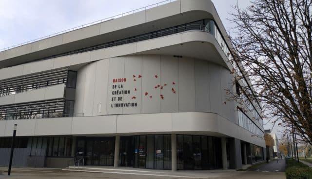La Maison de la création et de l'innovation sur le campus de Grenoble © Université Grenoble-Alpes