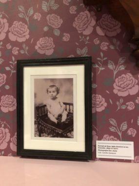 Portrait de Rose Valland, âgée d'environ 1 an et photographié à Grenoble. ©Manon Heckmann