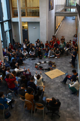 Rencontres de Youth for climate à Grenoble, du 26 octobre au 2 novembre 2019. © Théophile Pouillot Chévara de l'équipe photographie de Youth For Climate