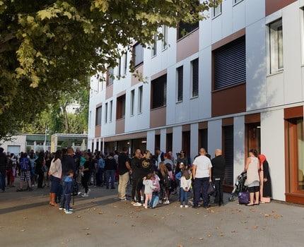 """Eybens inaugure sa """"nouvelle"""" école Bel Air, après sa mise aux normes et sa rénovation thermique - Place Gre'net"""