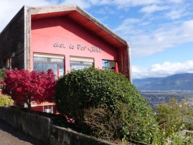 Restaurant le Per'Gras vu de l'extérieur. ©Manon Heckmann