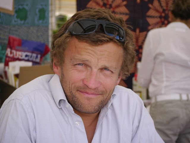 La cérémonie de remise du prix Soldats de montagne se tient à Grenoble jeudi 21 novembre. Une cérémonie qui distingue cette année l'écrivain Sylvain Tesson.Sylvain Tesson. DR