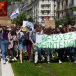 Marche pour le climat à Grenoble le 24 mai 2019 © Florent Mathieu - Place Gre'net