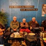 droite : Daniel Bloch, Gérald Dulac, Jean-Louis Schwartzbrod, Pierre Frappat et Jacques Chiron. © Joël Kermabon - Place Gre'net