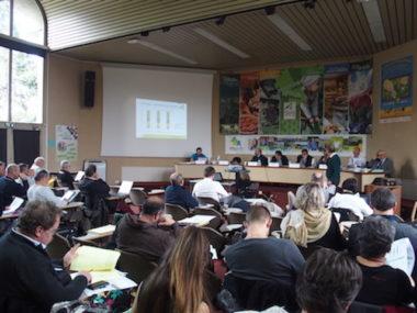 Le budget 2020 a été présenté lors de cette session de la Chambre d'agriculture de l'Isère. © Augustin Bordet -placegrenet.fr