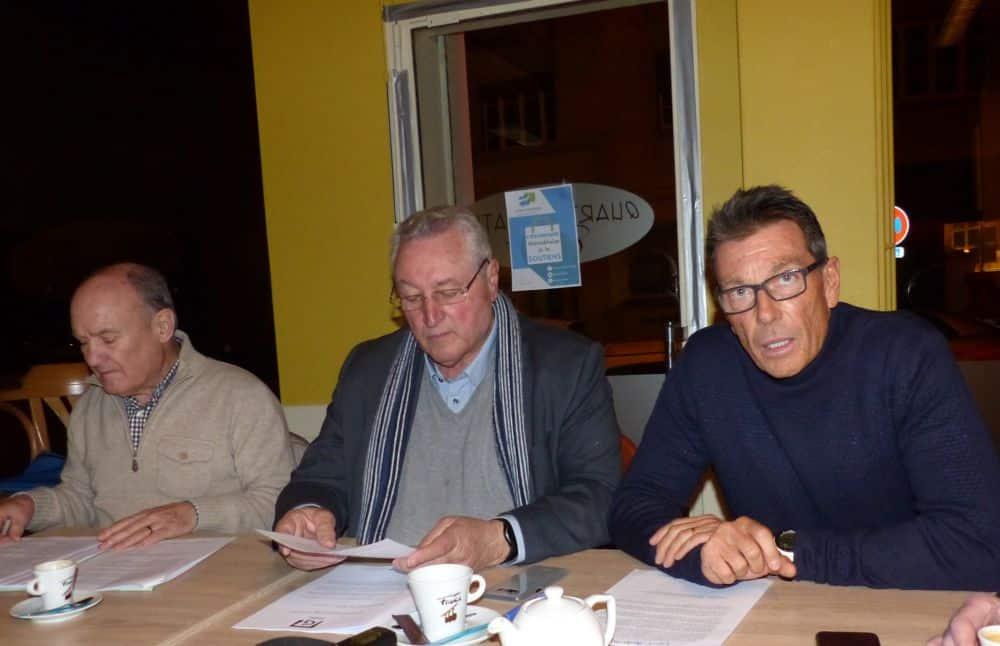Adrien Fodil, François Tarantini et Christian Bec de Grenoble le changement © Florent Mathieu - Place Gre'net