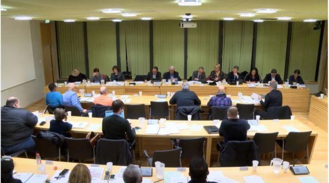 Capture d'écran du conseil municipal du 16 décembre dernier. © Dailymotion
