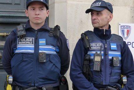 Présentation caméras individuelles police municipale Grenoble © Florent Mathieu - Place Gre'net
