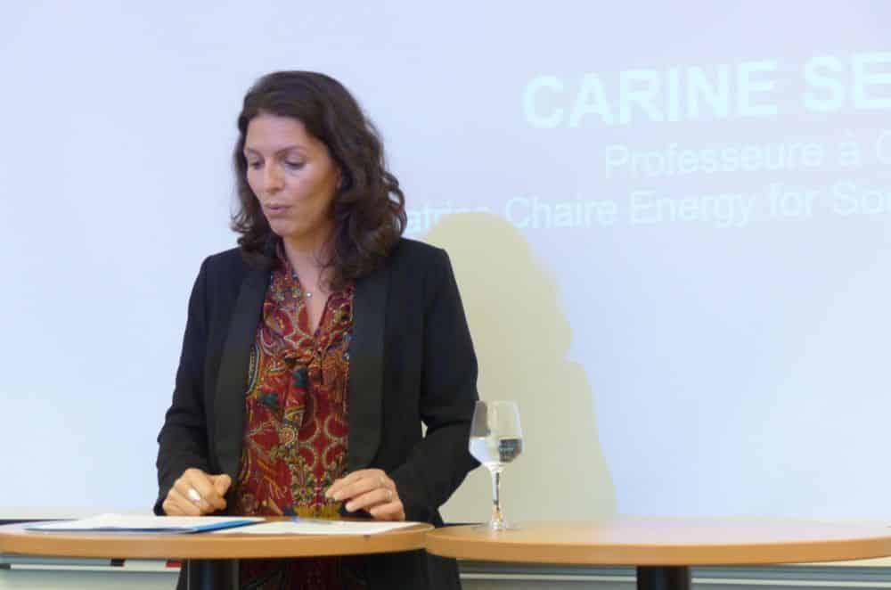 Le modèle des entreprises face à la transition énergétique. C'est le sujet d'étude de la nouvelle chaire de Gem Energy for Society. Carine Sebi © Florent Mathieu - Place Gre'net