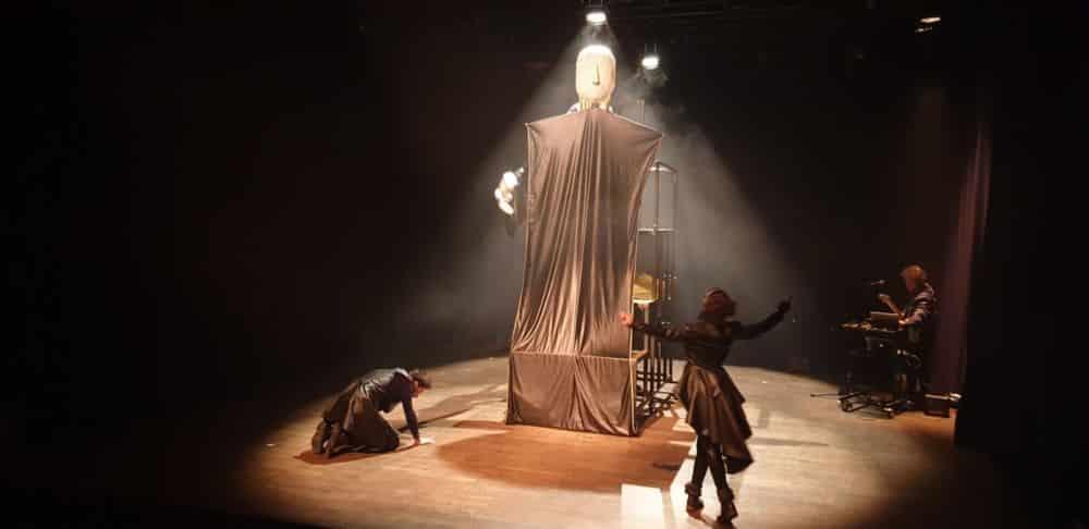 Macbeth du Contre Poing sur la scène du Théâtre de poche de Grenoble © Mathilde Audrusin - Théâtre municipal de Grenoble