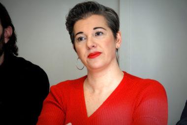 Sophie Romera, ancienne élue de la majorité municipale et aujourd'hui candidate pour 2020. © Raphaëlle Denis - Place Gre'net