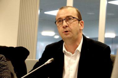 L'élu de droite Matthieu Chamussy. © Raphaëlle Denis - Place Gre'net
