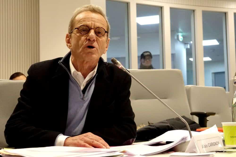 Alain Carignon est déjà conseiller municipal d'opposition de Grenoble... en attendant Émilie Chalas © Raphaëlle Denis - Place Gre'net