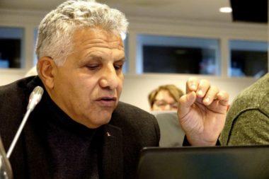 Hakim Sabri a présenté le budget 2020. © Raphaëlle Denis - Place Gre'net