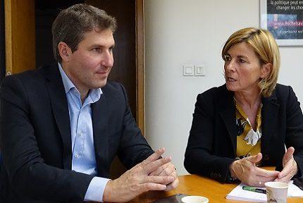 Mathieu Darnaud a rencontré les élus du département à 4 mois des municipales.