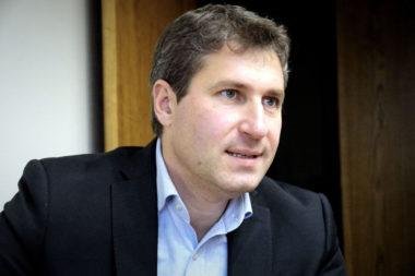 Mathieu Darnaud, sénateur (LR) de l'Ardèche. © Raphaëlle Denis - Place Gre'net