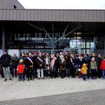 Les parents d'élèves, enseignants et élus réunis pour la mobilisation du collège Jules Vallès et des écoles du réseau. © Raphaëlle Denis - Place Gre'net