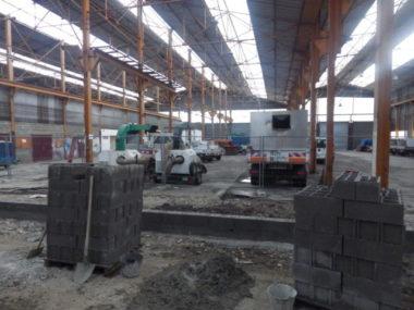 Les travaux de la nouvelle déchèterie échirolloise devraient s'achever en septembre 2020. © Thomas Courtade - Place Gre'net