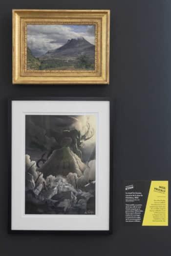 Derrière la montagne, la face cachée du tableau-Kyhn-Miss Prickly ©Jean-Marc Blache pour le Fonds Glénat