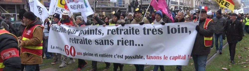Les retraités de l'Isère appelés à manifester à Grenoble et Bourgoin-Jallieu vendredi 1er octobre