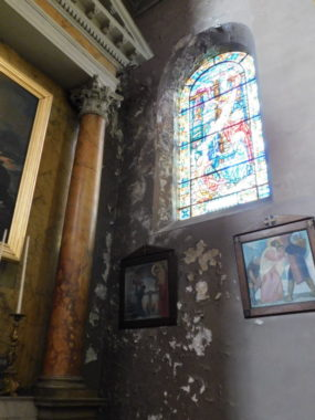 Le patrimoine religieux de Grenoble en danger ? Transept de l'église Saint-Louis. © Gilles-Marie Moreau