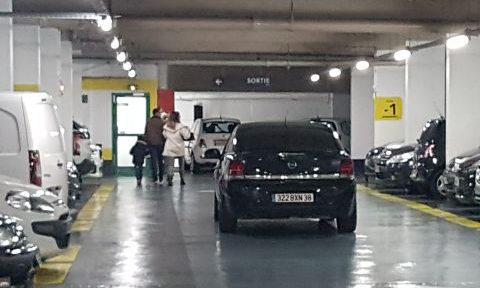Modernisation des parkings de la Métropole à l'instar du parking Lafayette, décembre 2019 © Séverine Cattiaux - Place Gre'net