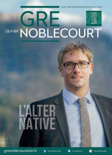 Affiche de campagne du candidat Noblecourt © Nouvel Air