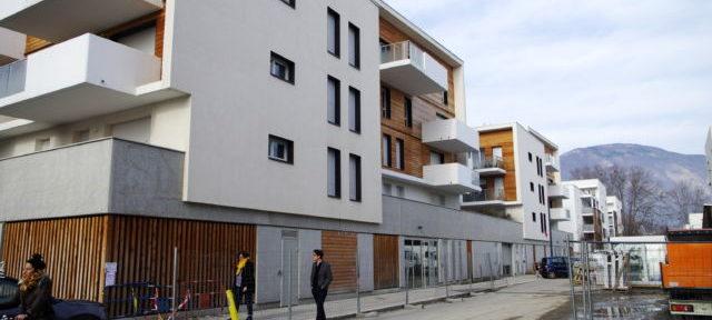 Le nouveau quartier du Châtelet comptera 330 nouveaux logements, dont 30% en logement social. © Anissa Duport-Levanti