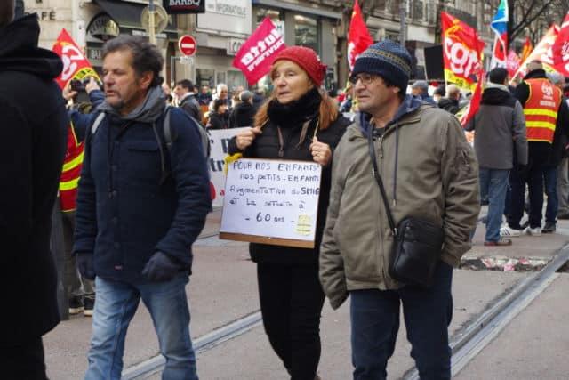 Au cœur des préoccupations des manifestants : l'avenir des générations futures. © Anissa Duport-Levanti